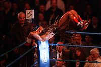 Pix:Michael Steele/SWpix...Boxing. Prince Naseem Hamed, Livingstone, 1996...COPYRIGHT PICTURE>>SIMON WILKINSON..Prince Naseem Hamed.