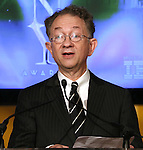 William Ivey Long (Chaitman, The American Theatre Wing)  announces the 2013 Tony Award Nominations at The New York Public Library for Performing Arts in New York on 4/30/2013...