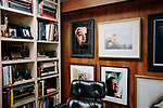 LOS ANGELES, CA. APRIL 9, 2017: details from the home of famed photographer Douglas Kirkland in the Hollywood Hills on Sunday, April 9, 2017. CREDIT: Brinson+Banks