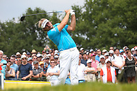Victor Dubuisson (FRA) carded a 69 during Round Three of the 2015 Alstom Open de France, played at Le Golf National, Saint-Quentin-En-Yvelines, Paris, France. /04/07/2015/. Picture: Golffile | David Lloyd<br /> <br /> All photos usage must carry mandatory copyright credit (© Golffile | David Lloyd)