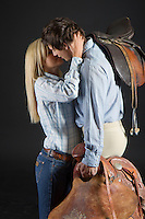 Western cowgirl english riding romance novel cover photograph by Jenn LeBlanc and Studio Smexy