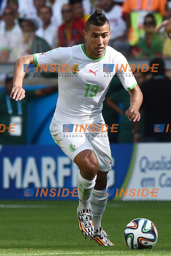 Saphir Taider Algeria <br /> Belo Horizonte (Brasile) 17-06-2014 Estadio Mineirao. Group H Belgium - Algeria / Belgio - Algeria Football 2014 Fifa World Cup Brazil - Campionato del Mondo di Calcio  Brasile 2014 <br /> Foto Insidefoto