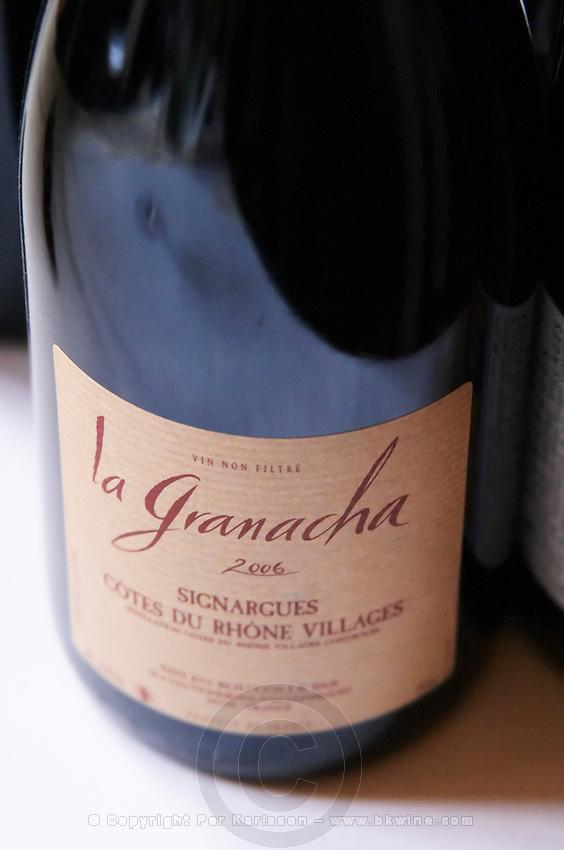 grenache la garnache unfiltered les vignerons d'estezargues rhone france