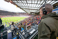 Picture by Allan McKenzie/SWpix.com - 07/10/2017 - Rugby League - Betfred Super League Grand Final - Castleford Tigers v Leeds Rhinos - Old Trafford, Manchester, England - The brief, Stuart Maconie.