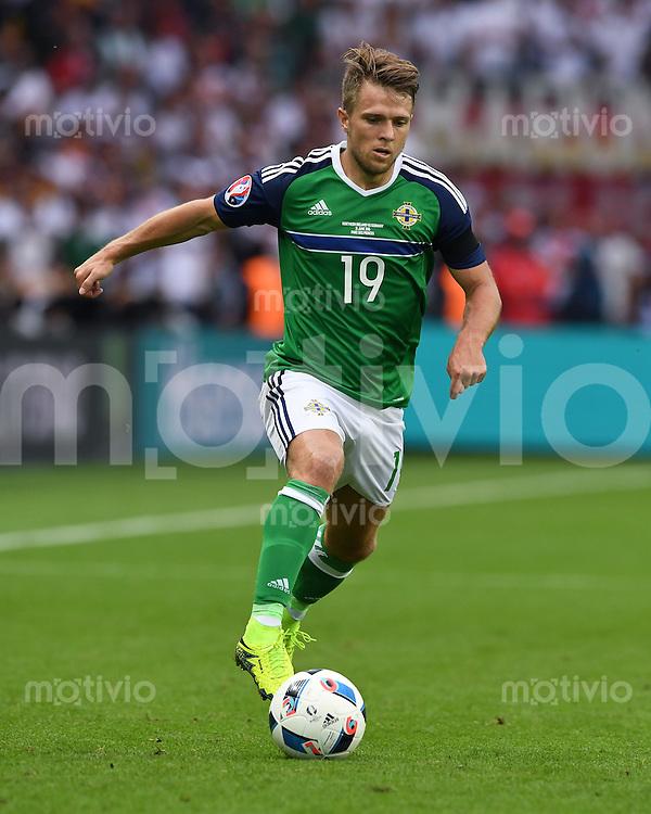 FUSSBALL EURO 2016 GRUPPE C IN PARIS Nordirland - Deutschland     21.06.2016 Jamie Ward (Nordirland)