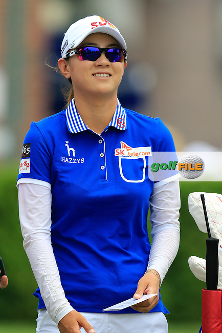 Na-Yeon Choi (KOR) on the 10th tee to start her match during Thursday's Round 1 of the 2015 KPMG Women's PGA Championship held at Westchester Country Club, Harrison, New York, USA. 6/11/2015.<br /> Picture &copy;Golffile/Eoin Clarke