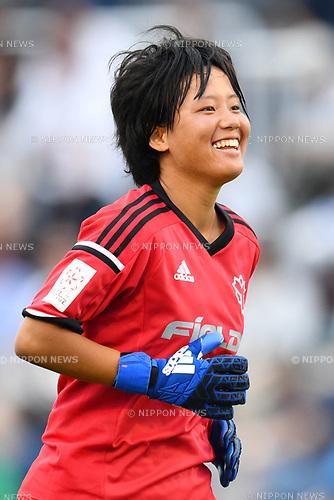 Mai Fukuda (Nittaidai Fields), <br /> AUGUST 12, 2017 - Football / Soccer : <br /> Plenus Nadeshiko League Cup 2017 Division 2 <br /> Final match between Nittaidai Fields Yokohama 1-1 (4PK5) Cerezo Osaka Sakai Ladies <br /> at Nishigaoka Soccer Stadium in Tokyo, Japan. <br /> (Photo by MATSUO.K/AFLO)