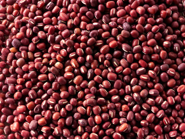Whole Cow Peas (Red Chori)  -Stock Photos