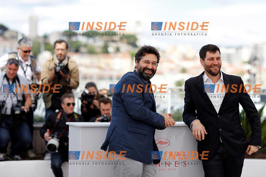 Davide Del Degan, Thanos Anastopoulos<br /> Festival di Cannes 2016 <br /> Foto Panoramic / Insidefoto