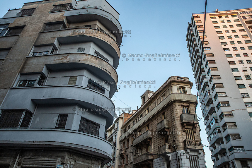Edifici del centro di Oran Buildings in Oran center