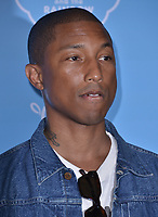 "10 August  2017 - Los Angeles, California - Pharrell Williams.   Premiere of Netflix's ""True and The Rainbow"" held at Pacific Theaters at The Grove in Los Angeles. Photo Credit: Birdie Thompson/AdMedia"