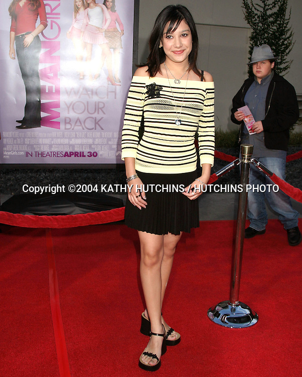 "©2004 KATHY HUTCHINS / HUTCHINS PHOTO.""MEAN GIRLS"" PREMIERE.ARC LIGHT THEATERS.LOS ANGELES, CA.APRIL 19, 2004..LALAINE"