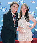 Jason Castro and pregnant wife at Fox's  2011 American Idol Finale held at The Nokia Live in Los Angeles, California on May 25,2011                                                                               © 2011 Hollywood Press Agency