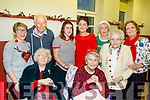 Staff and residents from Ocean View Nursing home, Camp who enjoyed the Christmas party in the Halla Le Cheile, Breanainn last Tuesday.