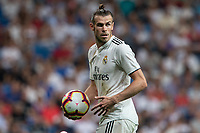 Gareth Bale of Real Madrid during the match between Real Madrid v Getafe CF of LaLiga, 2018-2019 season, date 1. Santiago Bernabeu Stadium. Madrid, Spain - 19 August 2018. Mandatory credit: Ana Marcos / PRESSINPHOTO