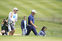Jon Rahm (ESP) on the 10th fairway during Round 3 of the Open de Espana 2018 at Centro Nacional de Golf on Saturday 14th April 2018.<br /> Picture:  Thos Caffrey / www.golffile.ie<br /> <br /> All photo usage must carry mandatory copyright credit (&copy; Golffile | Thos Caffrey)