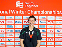 Picture by Allan McKenzie/SWpix.com - 13/12/2017 - Swimming - Swim England Winter Championships - Ponds Forge International Sport Centre - Sheffield, England - Aimee Wilmott takes gold in the womens open 400m individual medley.