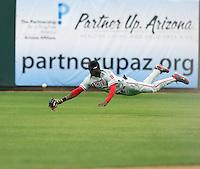 Domonic Brown - Scottsdale Scorpions, 2009 Arizona Fall League.Photo by:  Bill Mitchell/Four Seam Images..