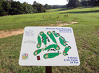 The McIntire Golf Course located in Charlottesville, VA.
