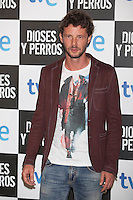 Eloy Azorin poses at `Dioses y perros´ film premiere photocall in Madrid, Spain. October 07, 2014. (ALTERPHOTOS/Victor Blanco) /nortephoto.com