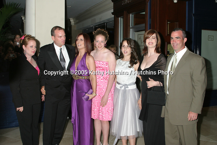 Martha Byrne.Husband .Family.32nd Annual Daytime Emmys.Radio City Music Hall.New York City, NY.May 20, 2005.©2005 Kathy Hutchins / Hutchins Photo...