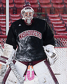 Nic Renyard (UMass - 29) - The UMass Minutemen practiced at Fenway Park on Friday, January 6, 2017, in Boston, Massachusetts.