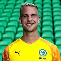 GRONINGEN - Voetbal, presentatie FC Groningen, seizoen 2019-2020, 08-08-2019, FC Groningen doelman Marco van Duin