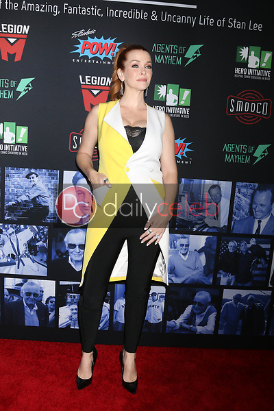 "Annie Wersching<br /> at ""Excelsior! A Celebration of the Amazing, Fantastic, Incredible & Uncanny Life of Stan Lee,"" TCL Chinese Theater, Hollywood, CA 01-30-19<br /> David Edwards/DailyCeleb.com 818-249-4998"