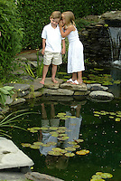 (7/19/03  East Hampton, NY)  Family portraits of the Espositos in the Hamptons.  (F05B1161.JPG -Staff photo by Matthew West.  Saved in Adv. Sunday and Daily Photo Archive).