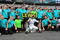 Spa 27/08/2017 Formula 1 / GP F1 Belgio Francorchamps <br /> <br /> Hamilton Nr. 44 Mercedes <br /> Foto Benoit Bouchez / Photonews /Panoramic /Insidefoto