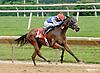 Virginia Ann winning at Delaware Park racetrack on 7/2/14
