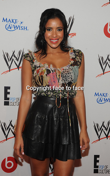 New York, NY-August 15 Julissa Bermudez attends E Entertainment and WWE 'Superstars for Hope' at the Beverly Hills Hotel on august 15, 2013 in ills, California. (C) <br />