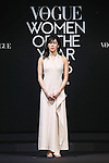 Rio Olympic 200-meter breaststroke champion Rie Kaneto attends the Vogue Japan Women of the Year 2016 Awards on November 24, 2016, Tokyo, Japan. Every year the fashion magazine awards successful women from various disciplines. This year Tokyo's first female Governor Yuriko Koike sent a video message in gratitude for her inclusion on the awards list. (Photo by Rodrigo Reyes Marin/AFLO)