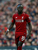 9th February 2019, Anfield, Liverpool, England; EPL Premier League football, Liverpool versus AFC Bournemouth; Sadio Mane of Liverpool