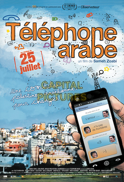POSTER ART (Telephone Arabe)<br /> in Man Without a Cell Phone (2010) <br /> (Ish lelo selolari)<br /> *Filmstill - Editorial Use Only*<br /> CAP/NFS<br /> Image supplied by Capital Pictures