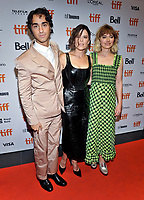 """05 September 2019 - Toronto, Ontario Canada - Alex Wolff, Neve Campbell, Imogen Poots. 2019 Toronto International Film Festival - """"Castle In The Ground"""" Premiere held at TIFF Bell Lightbox. <br /> CAP/ADM/BPC<br /> ©BPC/ADM/Capital Pictures"""