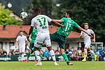 07.07.2019, Parkstadion, Zell am Ziller, AUT, TL Werder Bremen Zell am Ziller / Zillertal Tag 03 - FSP Blitzturnier<br /> <br /> im Bild<br /> FELIX ADJEI (WSG Tirol #17) im Duell / im Zweikampf mit Nuri Sahin (Werder Bremen #17), <br /> <br /> im ersten Spiel des Blitzturniers SV Werder Bremen vs WSG Swarowski Tirol, <br /> <br /> Foto © nordphoto / Ewert