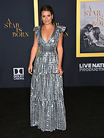 LOS ANGELES, CA. September 24, 2018: Lea Michele at the Los Angeles premiere for &quot;A Star Is Born&quot; at the Shrine Auditorium.<br /> Picture: Paul Smith/Featureflash
