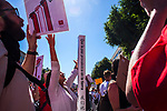 People gathered at the Capitol Mall in Sacramento, California on Saturday morning June 30, 2018 for the nationwide Families Belong Together Rally.  Photo/Victoria Sheridan 2018