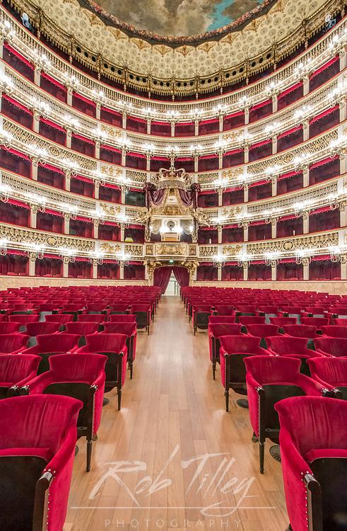 Europe, Italy, Naples, Teatro di San Carlo