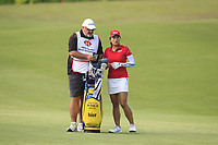 Jin Young Ko (KOR) in action on the 1st during Round 3 of the HSBC Womens Champions 2018 at Sentosa Golf Club on the Saturday 3rd March 2018.<br /> Picture:  Thos Caffrey / www.golffile.ie<br /> <br /> All photo usage must carry mandatory copyright credit (&copy; Golffile | Thos Caffrey)