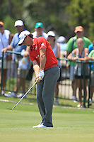 Rory McIlroy (NIR) on the practice green at the 1st tee before starting his match Sunday's Final Round of the 94th PGA Golf Championship at The Ocean Course, Kiawah Island, South Carolina, USA 11th August 2012 (Photo Eoin Clarke/www.golffile.ie)