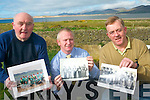 A special photographic collection is being put together to mark the 50th anniversary of Jack's in Cromane this year. .L-R Monty O'Neill, Brian Keary and Patrick Casey.