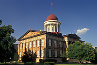 Springfield, IL, Illinois, The Old State Capitol Building in the capital city of Springfield.