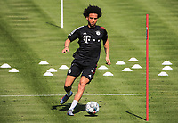 14th July 2020, Sebenersatrsse, Munich, Germany;  Leroy Sane new signing for FCB
