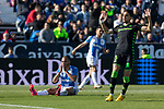 Leganes's Martin Braithwaite and Real Betis's Marc Bartra during La Liga match. Februry 16, 2020. <br /> (ALTERPHOTOS/David Jar)
