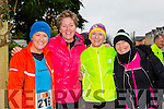 Mags Hussey, Tina Curtin, Cathy Quilter and Teresa Griffin Tralee who ran in the Beaufort 10k on New Years day