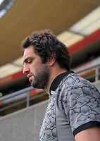 Sam Whitelock. All Blacks training at Westpac Stadium in Wellington, New Zealand on Thursday, 14 June 2018. Photo: Dave Lintott / lintottphoto.co.nz