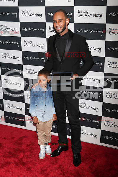 Swizz Beatz attends the Samsung Galaxy Note 10.1 Launch Event in New York City, August 15, 2012. © Diego Corredor/MediaPunch Inc. /NortePhoto.com<br />