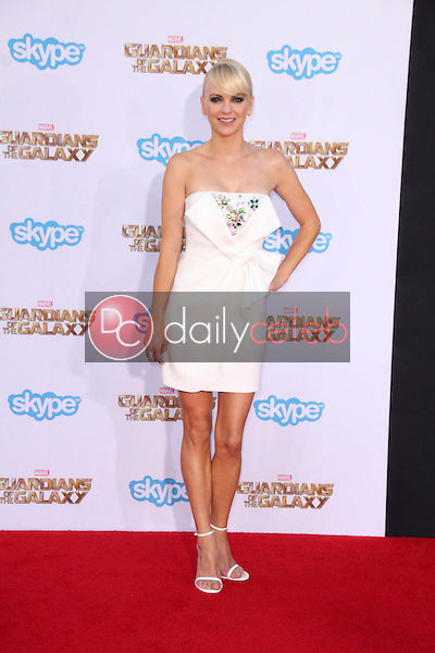 """Anna Faris<br /> at the """"Guardians Of The Galaxy"""" Premiere, Dolby Theater, Hollywood, CA 07-21-14<br /> David Edwards/Dailyceleb.com 818-249-4998"""